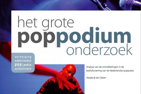Sectoronderzoek Nederlandse poppodia